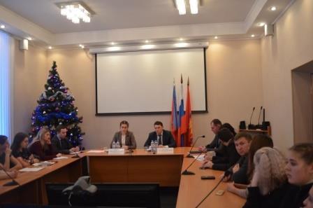 Заместитель председателя комитета по молодежной политике администрации Владимирской области С.В. Жирова