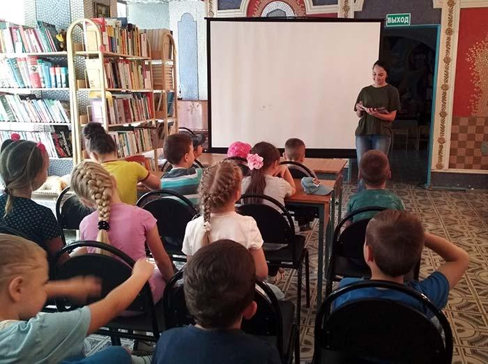 Ежегодная международная акция «Книжка на ладошке»
