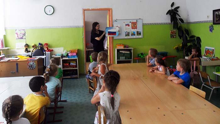 День Государственного флага РФ в Нагорной сельской библиотеке