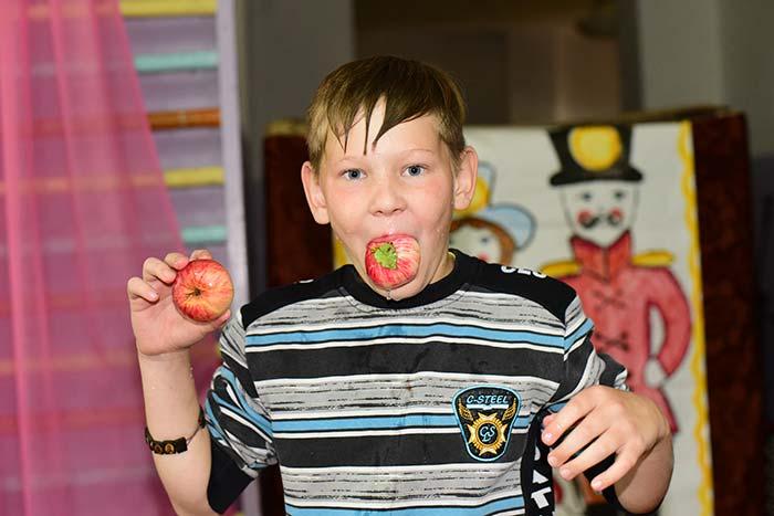 Яблочный Спас в Головинской сельской библиотеке