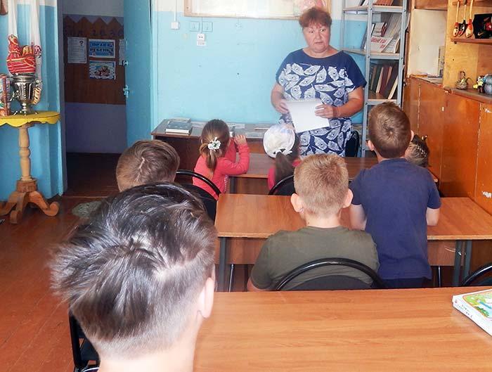 """Урок по энергосбережению """"Береги энергию"""" в Головинской сельской библиотеке"""