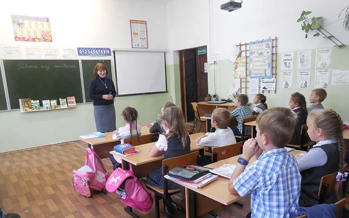 """Мероприятие """"Урок листопада"""" в Липенской ООШ"""