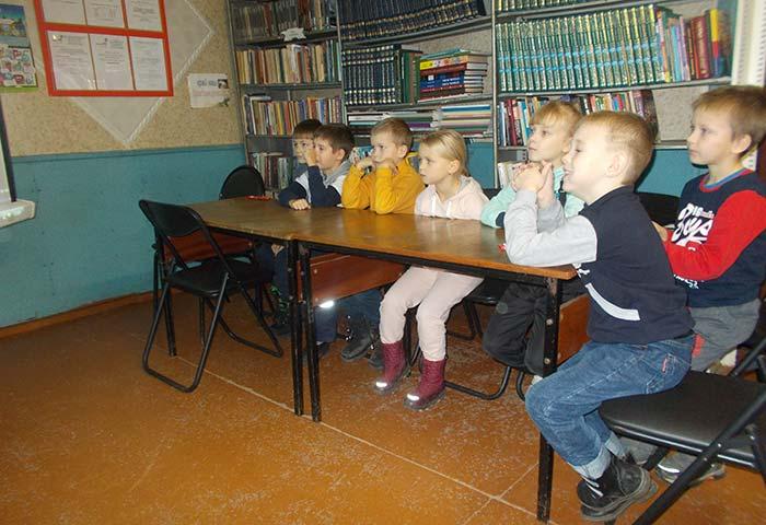 Экскурсия «Чудесная страна-библиотека» для учащихся первого класса Костинской школы
