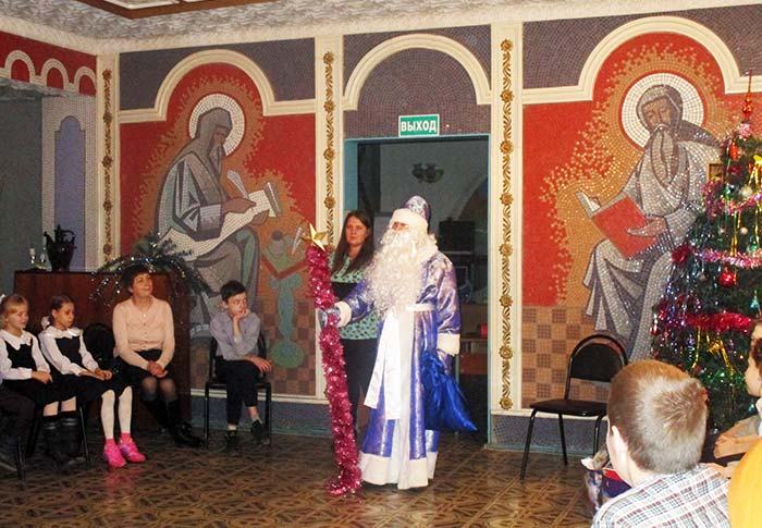 Акция «Мешок Деда Мороза» в Детском литературно-эстетическом центре