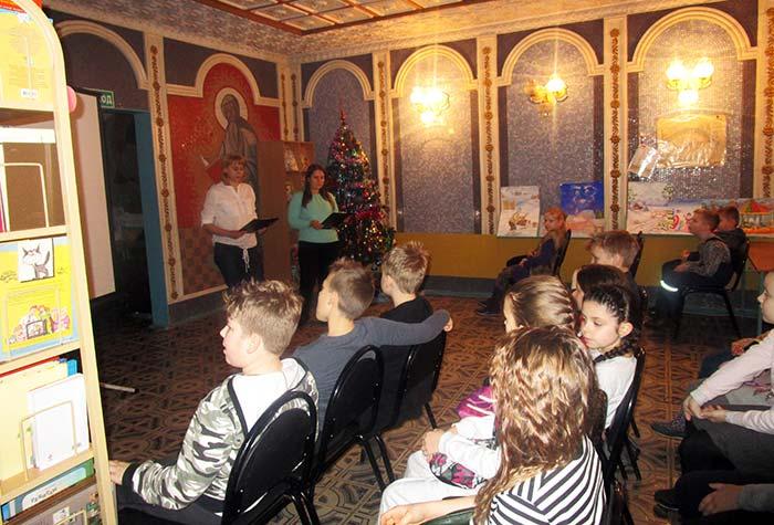 Новогодний серпантин в Детском литературно-эстетическом центре