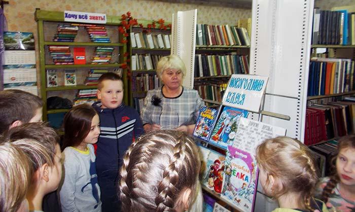 «Зимний мультфейерверк» в Костинской сельской библиотеке