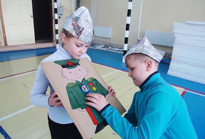 Игровая познавательная программа «Родины отважные сыны»