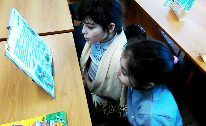Акция «Всемирный День чтения вслух» в Аннинской сельской библиотеке