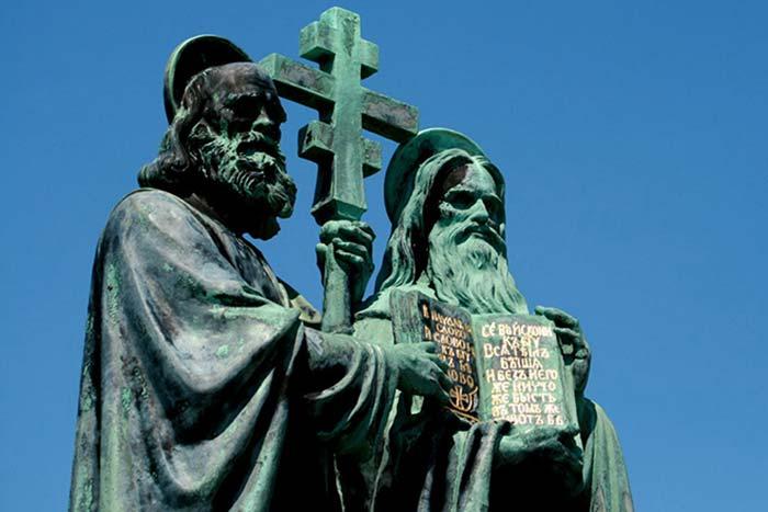 Кирилл и Мефодий: создание азбуки