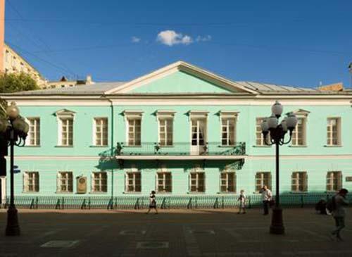 Мемориальная квартира Пушкина на Арбате. Москва