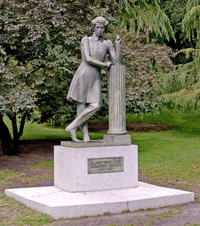Памятник Пушкину в Мадриде