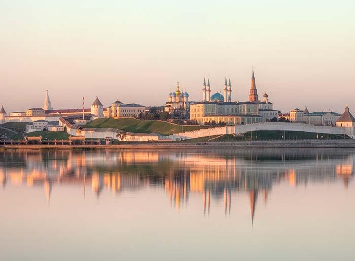 Поэтические места на карте России. Казань