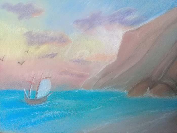 Ветер по морю гуляет и кораблик подгоняет.
