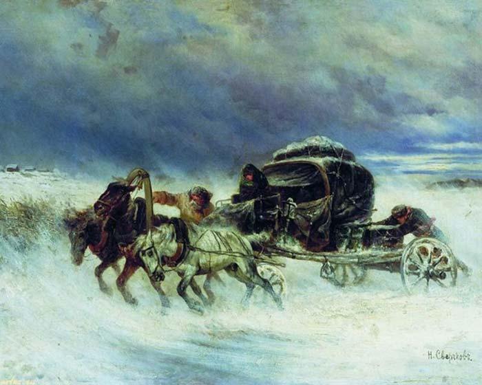 Непогода в русской литературе
