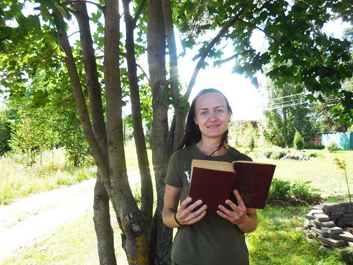 Яблочные книги. Читатель читателю. Библиотека пос. Труд