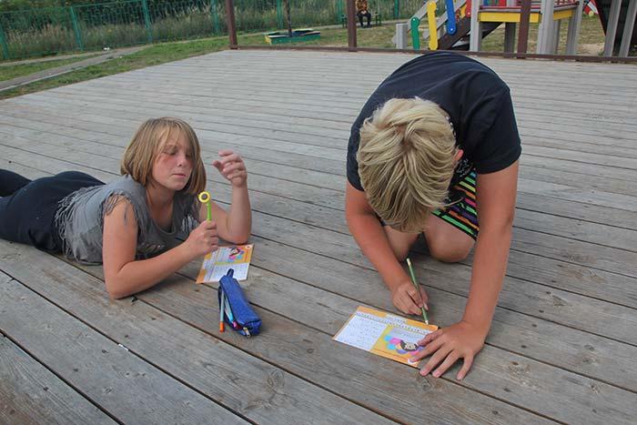 Детское познавательное мероприятие на открытом воздухе. Крутовская сельская библиотека