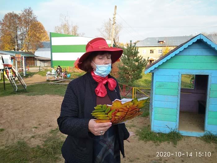 """Литературно - развлекательное мероприятие """"Краски осени"""". Библиотека пос. Труд"""