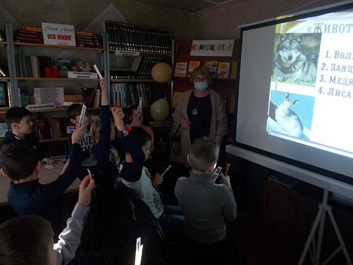 Интеллект-игра «Звездный час» в Костинской сельской библиотеке