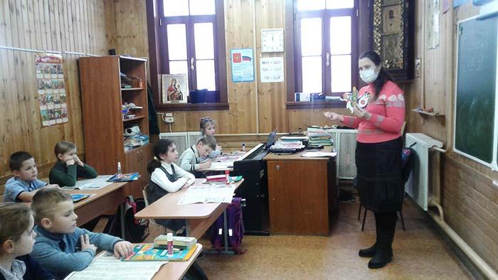 Мастер–класс «Зимние закладки» для учащихся ЧОУ «Православная НОШ»