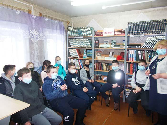 Литературный час «Аркадий Гайдар и его книги» в Костинской сельской библиотеке