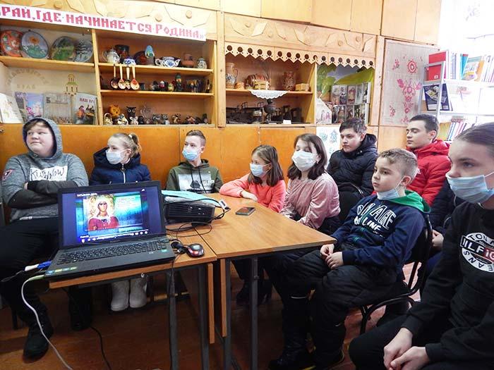 Информационный час «Татьянин день» в Головинской сельской библиотеке