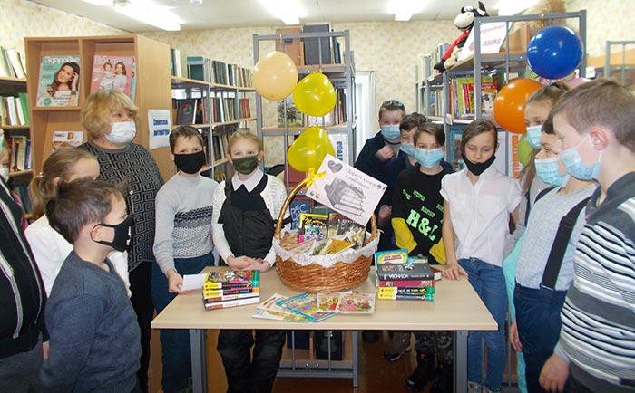 """Акция """"Дарите книги с любовью!"""" Костинская сельская библиотека"""