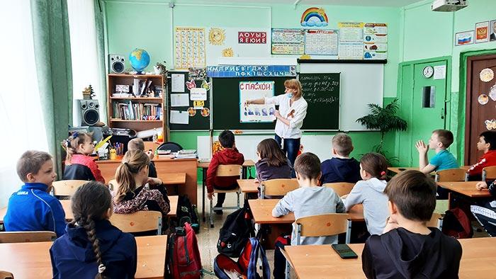 """Час мужества """"Сначала была беда, Победа пришла потом"""" для учащихся начальных классов МБОУ СОШ № 3 г. Петушки"""
