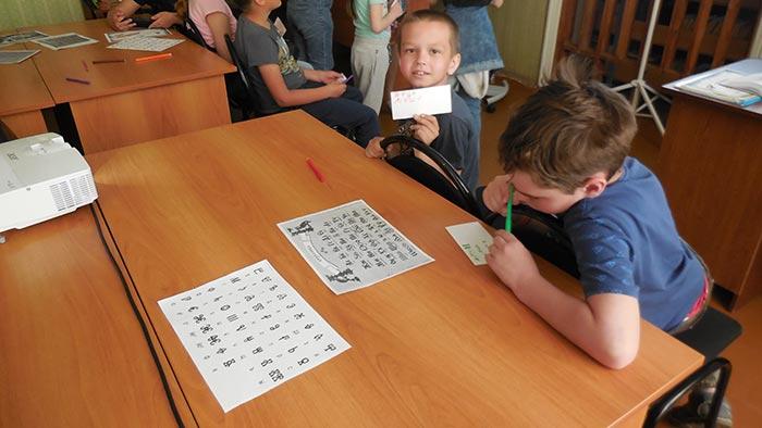 Библиотечный урок, посвящённый Дню славянской письменности и культуры в Пекшинской сельской библиотеке