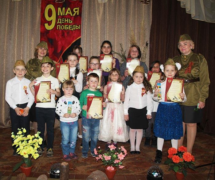 Конкурс чтецов, посвящённый Дню Победы в Великой Отечественной Войне 1941-1945г. «Муза в солдатской шинели»