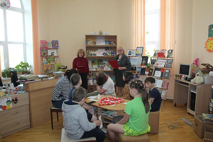 Познавательно – развлекательное мероприятие «Семья – это важно!» в Крутовской сельской библиотеке