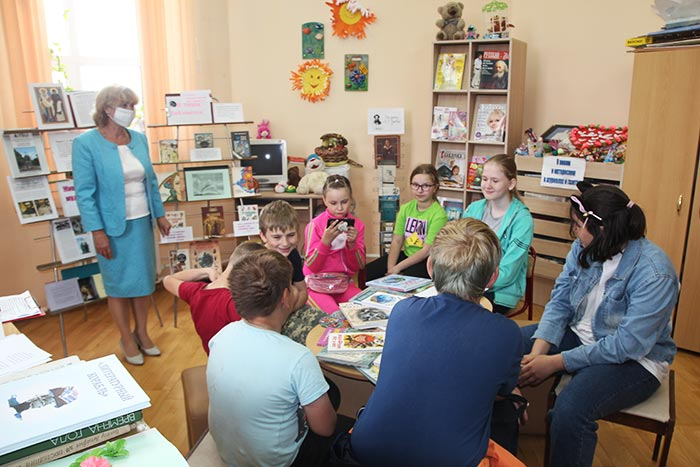 Час общения «Книжкин Дом». д. Крутово