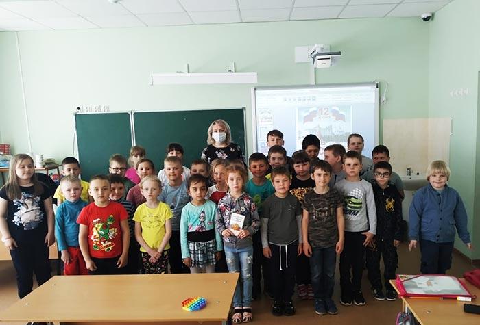Информационно-познавательный час для школьного лагеря: «Русь, Россия, Родина моя...»