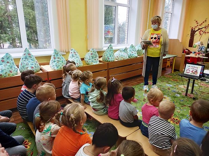 Международная акция «Книжка на ладошке – 2021»