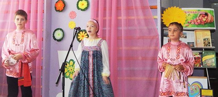 Фольклорное мероприятие «Три спаса – три запаса» в Головинской сельской библиотеке