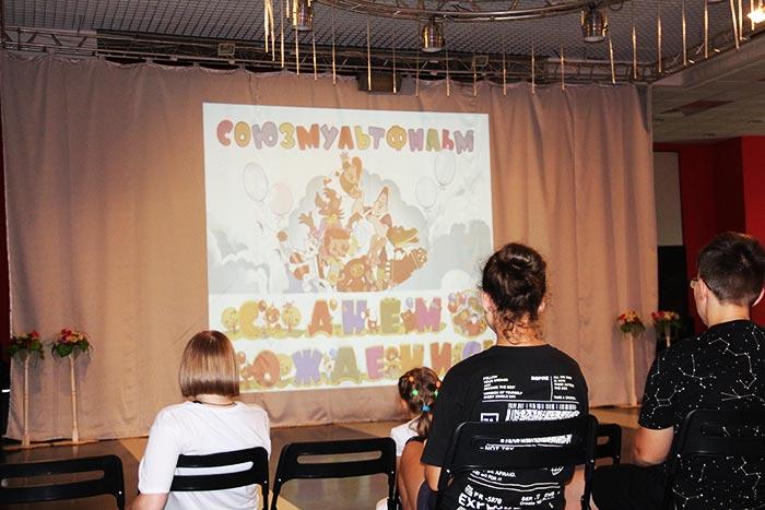 Познавательно-игровая программа «Путешествие в страну мультфильмов»