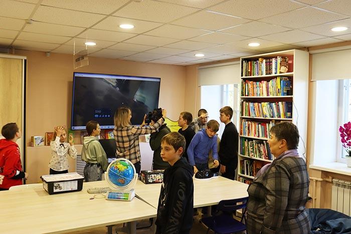 Экскурсия - познание «Библиотека – молодым: ресурсы, услуги, возможности»