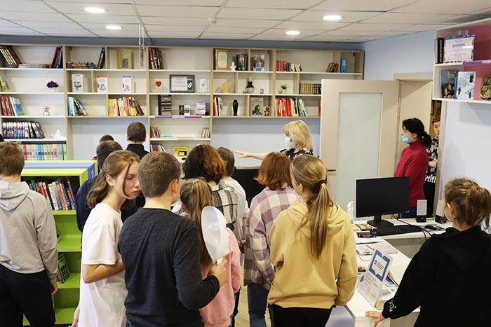 Экскурсия–познание «Библиотека открывает двери»