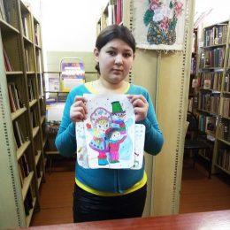Творческая мастерская «Зимние картинки» в Глубоковской сельской библиотеке