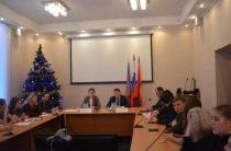 10 января 2019 года — встреча с заместителем председателя комитета по молодежной политике администрации Владимирской области С.В. Жировой