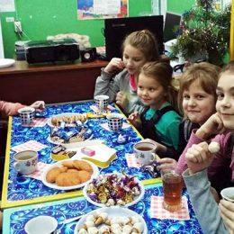 Новогодние мероприятия в Пахомовской сельской библиотеке