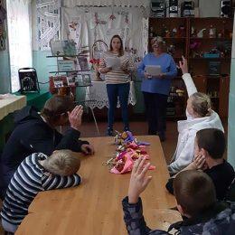 Мероприятие «Детям об интернете» в д. Караваево