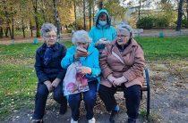 Акция «Мудрой осени счастливые мгновенья» в рамках международного Дня пожилого человека
