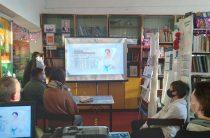 Видеоурок «Муромская графиня» в рамках проекта «Имя. Символ33» в Пахомовской сельской библиотеке