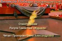 Стихотворение Расула Гамзатова «Журавли»