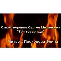 Стихотворение Сергея Михалкова «Три товарища»
