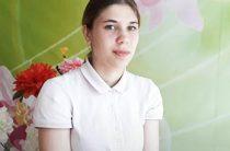 Гончарова Оксана читает стихотворение «Библиотекарь» Е. Матвеевой