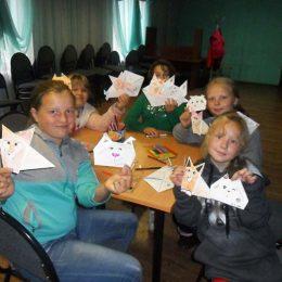 Мастер-класс в технике «Оригами» «Животный мир»