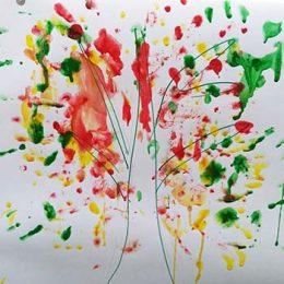 Литературно — развлекательное мероприятие «Краски осени». Библиотека пос. Труд