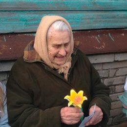 Акция «Цветы Победы» силами Пахомовской сельской библиотеки и СДК