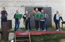 Концерт «Мелодии ушедшей той войны» на открытой площадке СДК Труд